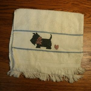 Other - (2) Scottie Dog Towels